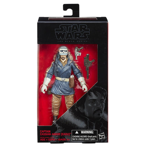 Hasbro Star Wars The Black Series Rogue One Captain Cassian Andor 6 Inch Action Figure