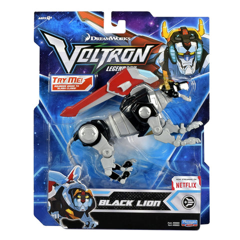 "Voltron Legendary Defender (2017) Black Lion 5.5"" Basic Action Figure"