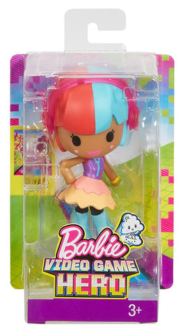 Barbie Video Game Hero 2-D Mobile Game Gaia Character 5 in. Figure