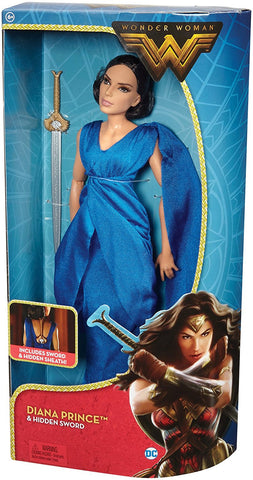 DC Comics Wonder Woman Diana Princess and Hidden Sword 12 in. Fashion Doll