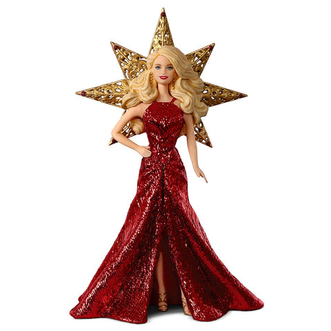 2017 Hallmark Keepsake Ornament - Holiday Barbie