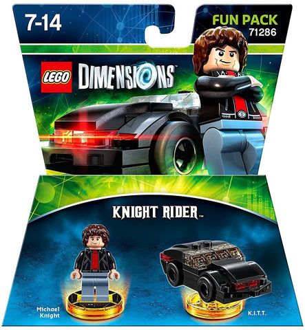 LEGO Dimensions Video Game Fun Pack - Knight Rider with Michael Knight and K.I.T.T.