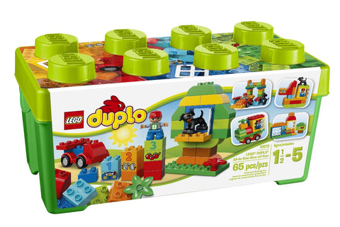 LEGO DUPLO 10572 Creative Play All-in-One-Box-of-Fun Building Blocks Set