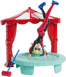 DC Super Hero Girls Harley Quinn 6 In Doll Action Figure Bedroom Set Playset