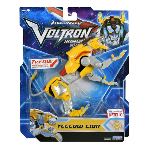 "Voltron Legendary Defender (2017) Yellow Lion 5.5"" Basic Action Figure"