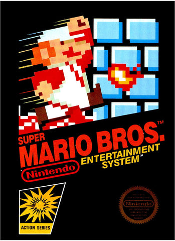 Nintendo Entertainment System (NES) Video Game - Super Mario Bros.