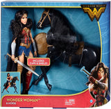DC Comics Wonder Woman 12 in. Fashion Doll with Armored Black Horse