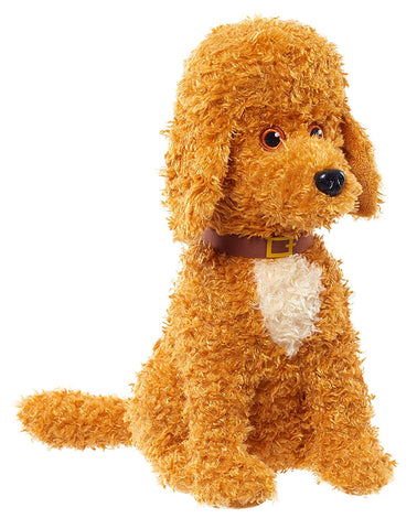 Fancy Nancy 11 in. Barking Frenchy Plush Toy