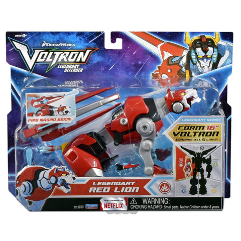 Voltron Legendary Defender (2017) Red Lion 8 in. Action Figure