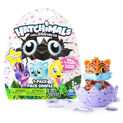 Hatchimals CollEGGtibles Collectible Animal Figurines - Season 1 Blind Bag 1-Pack