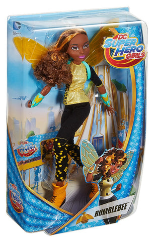 Mattel DC Super Hero Girls Bumblebee 12 in. Fashion Doll