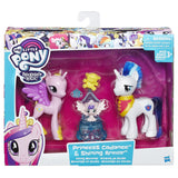 My Little Pony Friendship is Magic Family Moments Pack: Princess Cadance, Shining Armor and Flurry Heart Figures