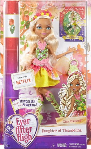 Ever After High Nina Thumbell Rebel Fashion Doll