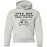 This Guy Has Everything Under Control - Boys/Youth Shirt