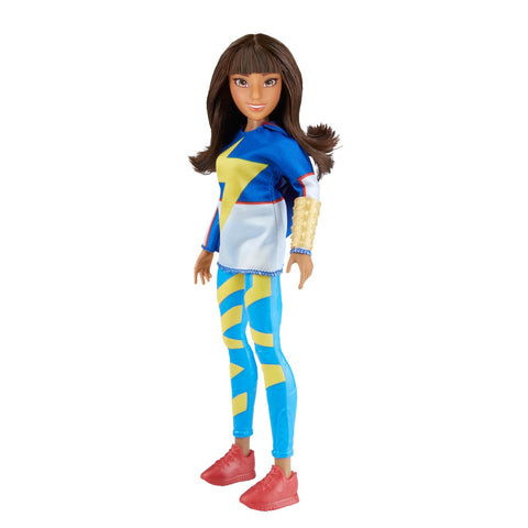 Marvel Rising Secret Warriors Training Outfit Ms. Marvel Kamala Khan 11 in. Adventure Action Figure Doll