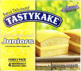 Tastykake Lemon Flavored Juniors Snack Cakes 12 oz 4 Cake Package