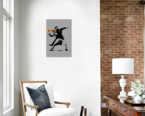 Wall art of The Snatcher from Harry Potter