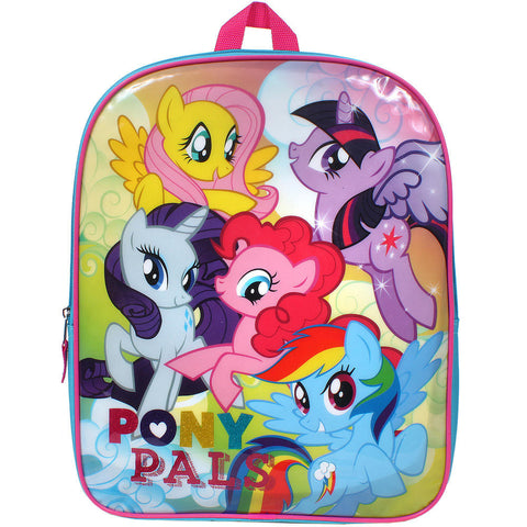 My Little Pony Pals 15 in. Single Pocket Backpack Bookbag