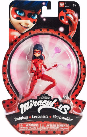 Bandai 5.5-Inch Miraculous Ladybug Marinette Superhero Action Figure