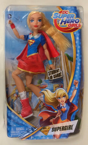 "Mattel DC Super Hero Girls Supergirl 12"" Fashion Doll"