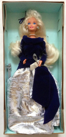 Barbie Special Edition Winter Velvet Caucasian 1st In A Series Avon Fashion Doll