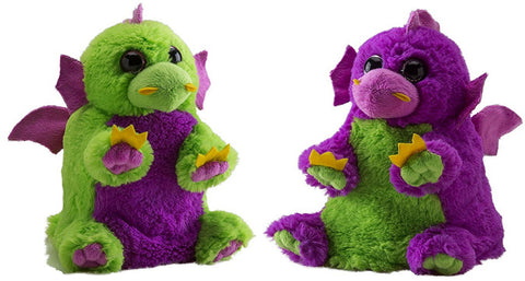 Wild Republic Switch A Rooz 7in. Reversible Plush Dragon Huff and Puff