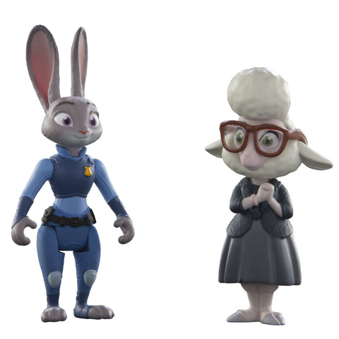 "Disney Zootopia Character Pack Judy And Bellwether 3"" Action Figures"