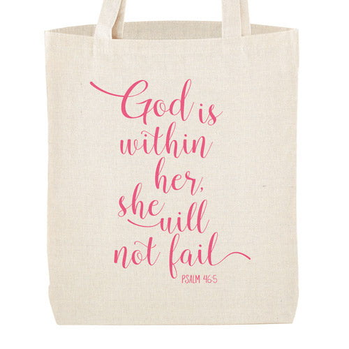 God Is Within Her | Tote Bag
