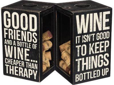 Good Friends & Wine | Cork Holder