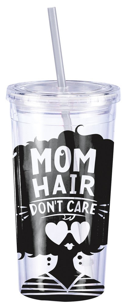 Mom Hair Don't Care | Travel Cup