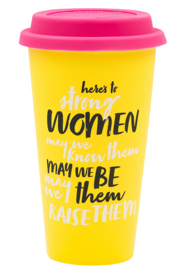 Here's To Strong Women | Thermal Mug