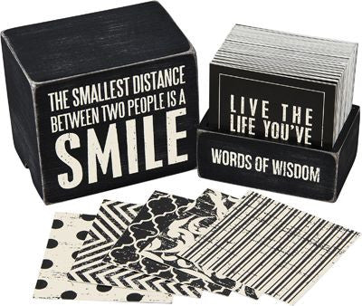 Words of Wisdom | Cards & Keepsake Box