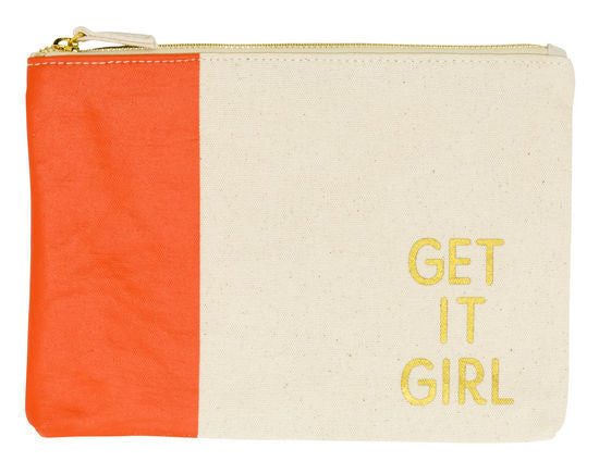 Get It Girl | Zipper Tote