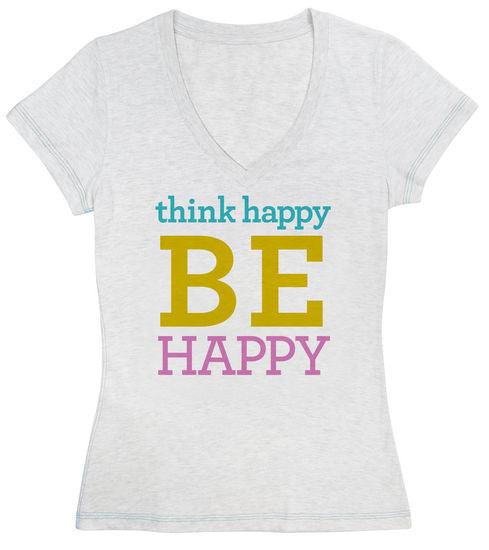 Think Happy BE Happy | Tee