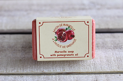 Pomegranate Oil Marseille Soap - 100 Gram Bar