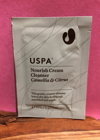 Nourish Cream Cleanser 2ml Sample