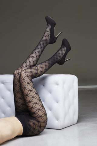 Karen 70 Lace Tights