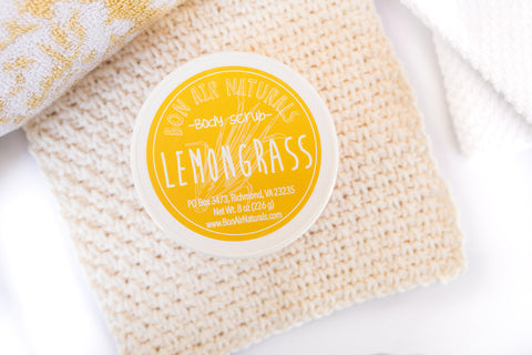 Lemongrass Body Scrub
