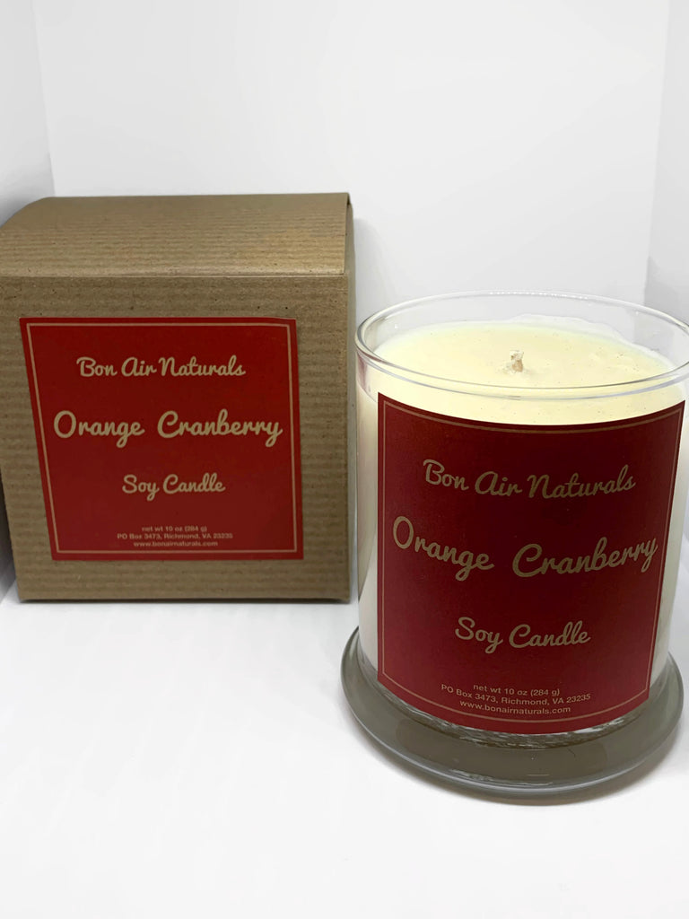 Orange Cranberry Soy Candle