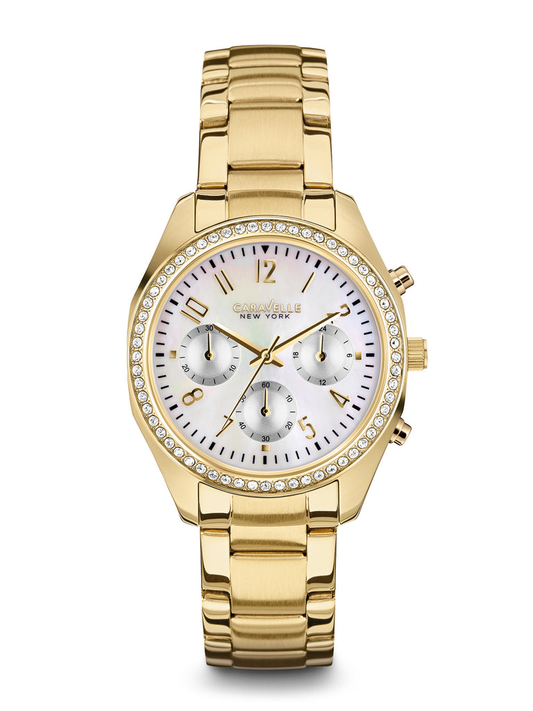 Caravelle New York Women's 44L114 ChronographWatch