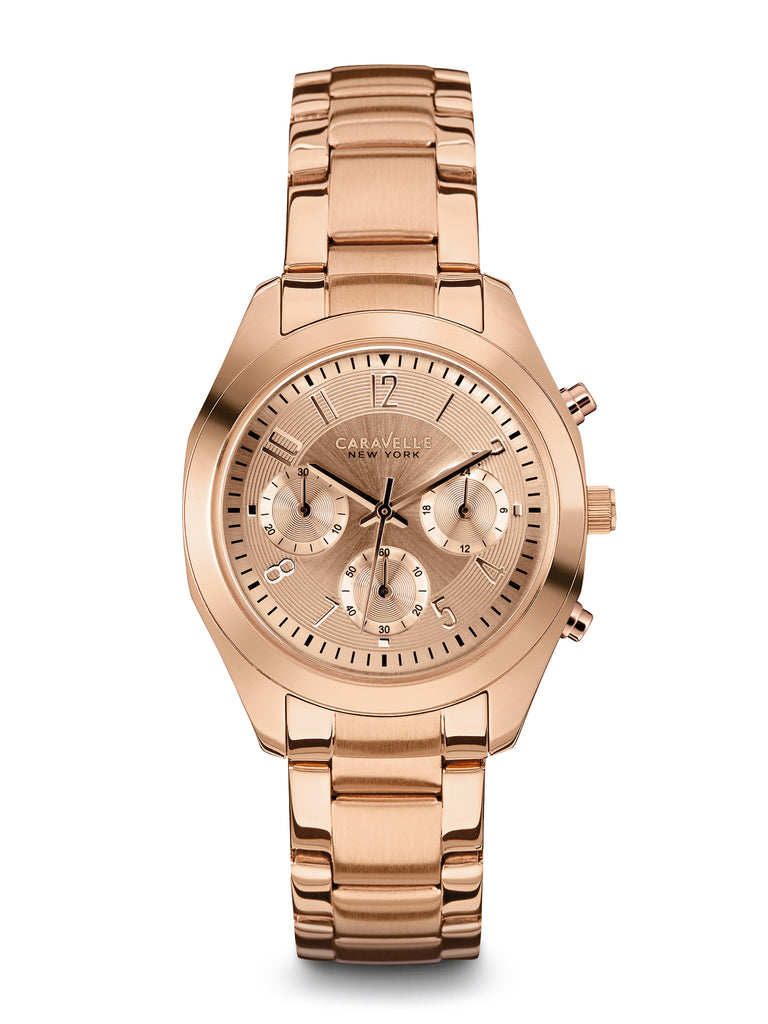 Caravelle New York Women's 44L115 ChronographWatch