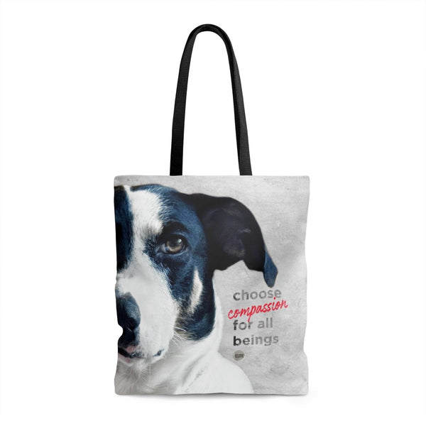 Choose Compassion For All Beings Tote Bag - Frida