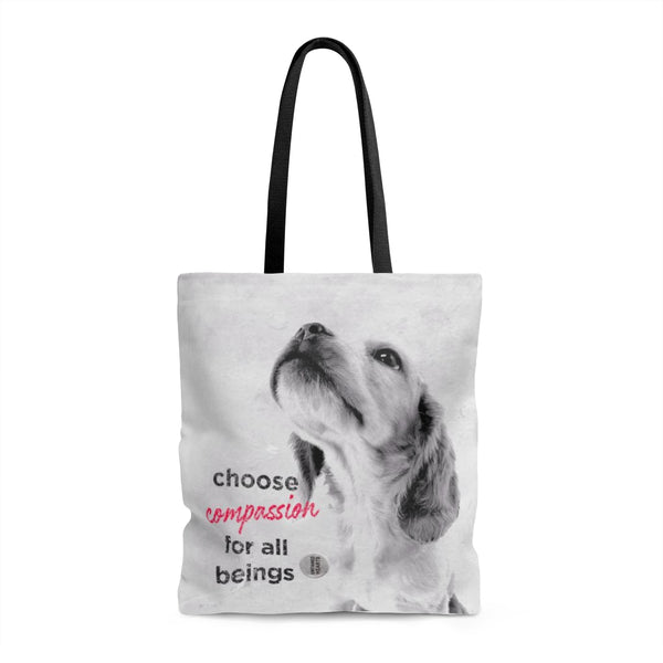 Tote Bag Choose Compassion - Doggy