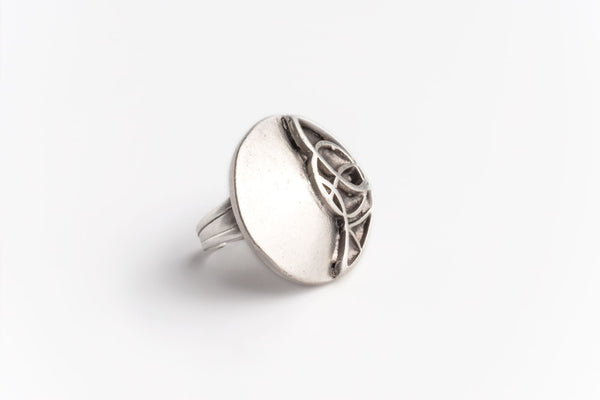Celtic Moon Ring