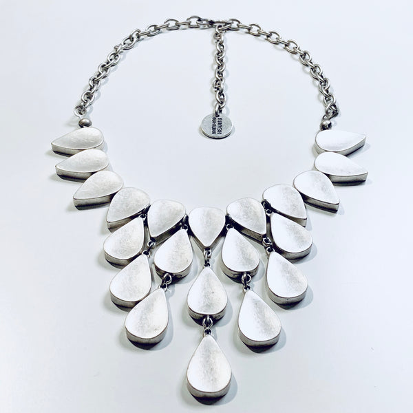 Water Drops Necklace / Reversible