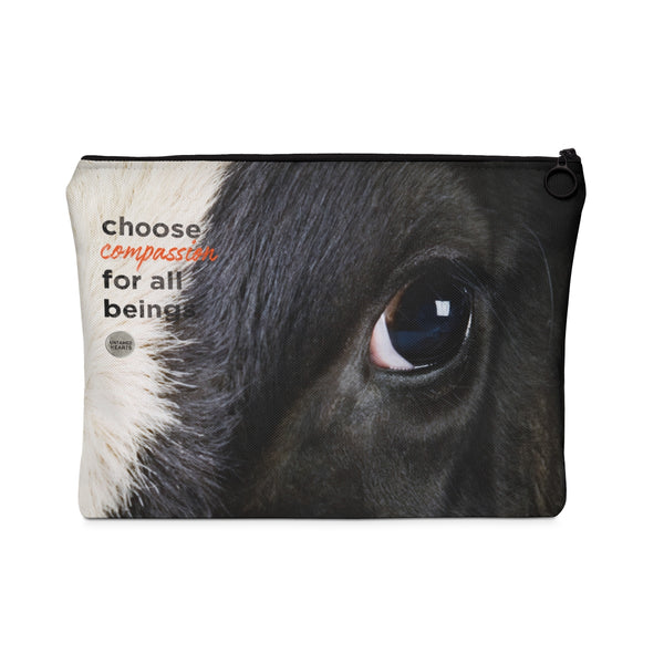 Choose Compassion Carry All Pouch - Eyes