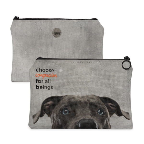 Choose Compassion Carry All Pouch - Dog
