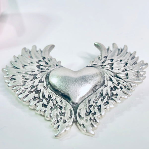 Angel Heart Broche