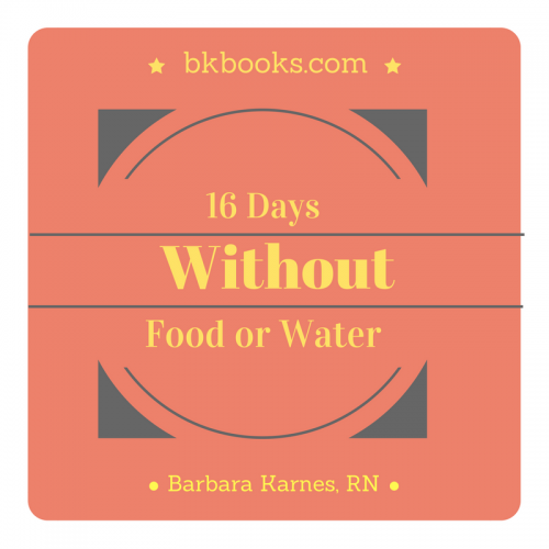 16 Days Without Food or Water