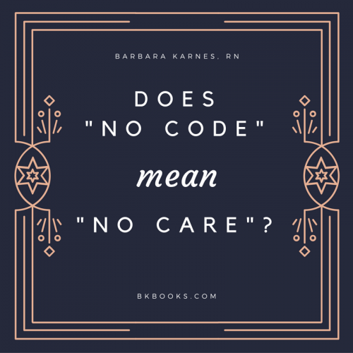 "Does ""No Code"" mean ""No Care""?"